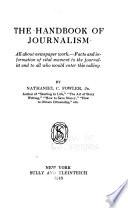 The Handbook of Journalism