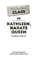 Book Kathleen, Karate Queen