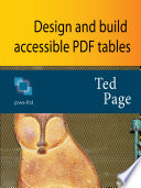 Design and Build Accessible PDF Tables