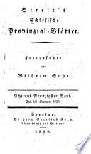 Ruebezahlider Schlesische Provinzialblaetter