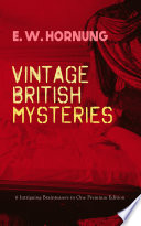 VINTAGE BRITISH MYSTERIES     6 Intriguing Brainteasers in One Premium Edition