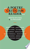 A Poetry Criticism Reader