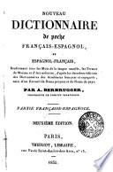 Nouv. dictionnaire de poche fran—cais-espagnol et espagnol-fran—cais, A-Z