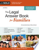 Legal Answer Book for Families  The