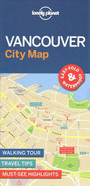 Lonely Planet Vancouver City Map