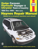 Dodge Caravan Plymouth Voyager Chrysler Town Country Automotive Repair Manual