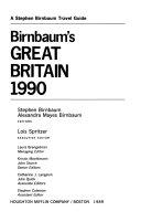 Birnbaum S Great Britain 1990