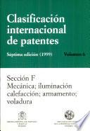 Clasificaci  n internacional de patentes