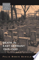 Book Death in East Germany  1945 1990