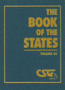 The Book of the States  2008