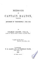 Memoir of Captain Dalton