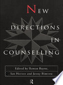 New Directions In Counselling