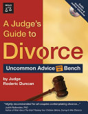 Judge s Guide to Divorce  A