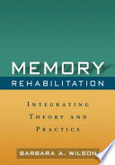 Memory Rehabilitation book