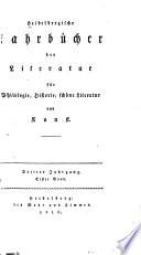 Heidelbergische Jahrb  cher der Litteratur
