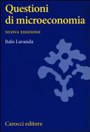 Questioni di microeconomia