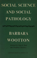 Social Science and Social Pathology