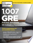 1 007 GRE Practice Questions  4th Edition