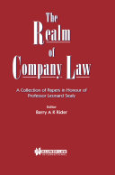 Realm of Company Law