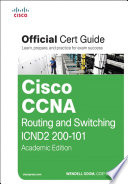 Cisco CCNA Routing and Switching ICND 200 101