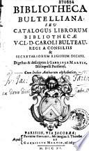 Bibliotheca bultelliana