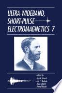 Ultra Wideband  Short Pulse Electromagnetics 7