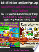 Comic Books For Kids Age 8 With Comic Illustrations  Perfect Ninja Books For Boys   Kid Ninjas   Dog Humor Books