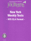 Houghton Mifflin Harcourt Journeys New York
