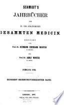 Jahrbücher der in- und ausländischen gesammten Medizin