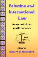 Palestine and International Law