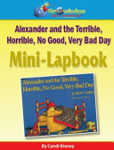 Alexander and the Terrible  Horrible  No Good  Very Bad Day Mini Lapbook