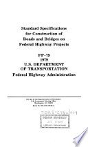 Standard Specifications For Construction Of Roads And Bridges On Federal Highway Projects