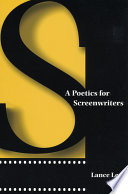 A Poetics For Screenwriters : book on screenwriting which delves...