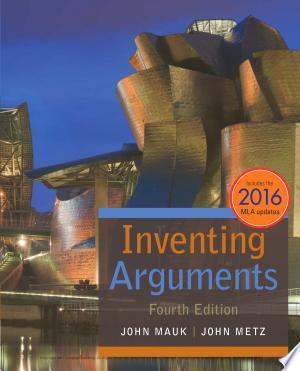 Inventing Arguments, 2016 MLA Update - ISBN:9781337280853