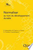 illustration Normaliser au nom du développement durable