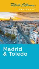 Rick Steves Snapshot Madrid Toledo book