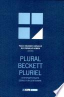 Plural Beckett Pluriel
