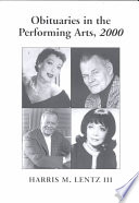 Obituaries in the Performing Arts  2000