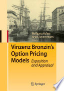 Vinzenz Bronzin s Option Pricing Models