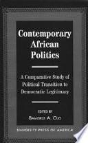 Contemporary African Politics