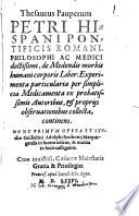 Thesaurus pauperum
