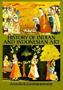 . History of Indian and Indonesian Art .