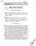 Mémoire en réponse pour le sieur Jean-Marie Fleurdelix, propriétaire et maire à Rive-de-Gier, et dame Jeanne Brochier son épouse... contre les sieurs Rivoire, Journoud, Coste, Meunier, Madignier, Delay et consorts...