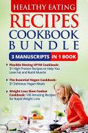 Healthy Eating Recipes Cookbook Bundle