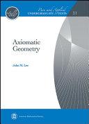 Axiomatic Geometry