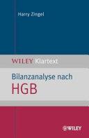 Bilanzanalyse nach HGB