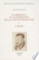 illustration La deffence, et illustration de la langue françoyse