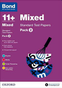 Bond 11+: Mixed: Standard Test Papers