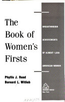 The Book of Women's Firsts Chronicles The Accomplishments Of Numerous