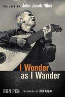 I Wonder as I Wander Book